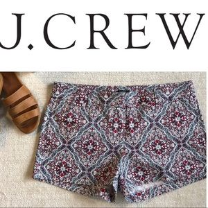 JCREW city fit shorts